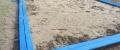 d) Obloženie pieskoviska - výmena D-130x35-2000